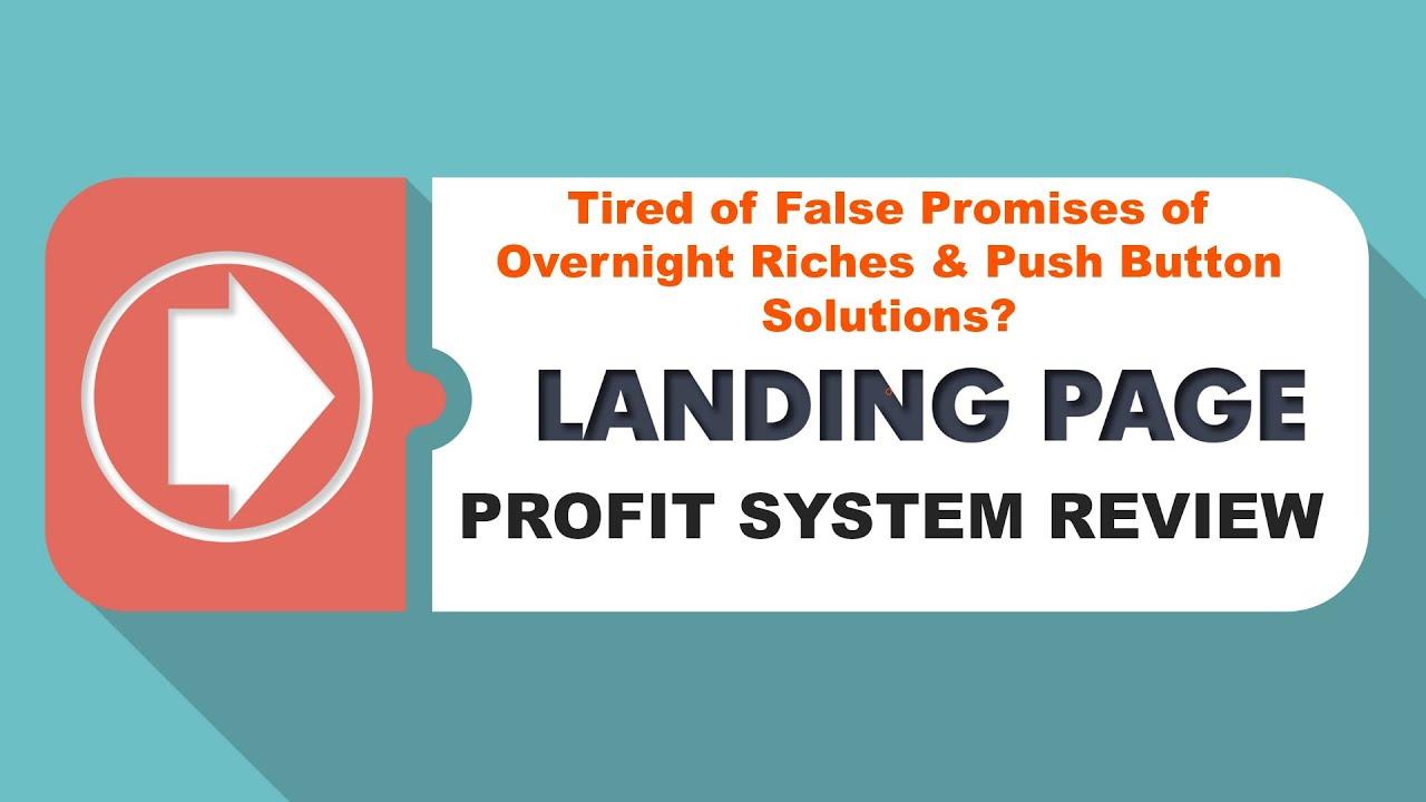 (Landing Page Profit System Review) Complete Overview Of Landing Page Profit System Course