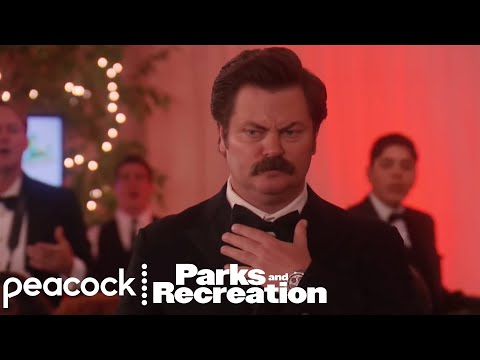 Ron Punches Jeremy Jamm – Parks and Recreation