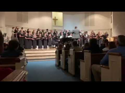 Buckhorn High School's Concert Choir performs Domine, Ad Adjuvandum Me Festina arr. G. B. Martini