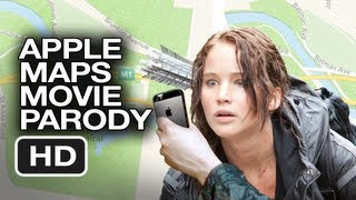 Apple Maps Hunger Games Parody Movie HD