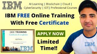 IBM Certified Free Training to Update Skills   IBM Free Online Courses   IBM digital badges Students screenshot 4