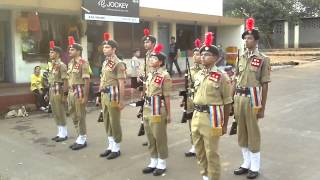 salaami shastra by ncc cadets
