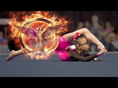 Hunger Games | Unrealistic Floor Routine