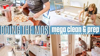 DOING THE MOST | MEGA CLEANING MOTIVATION | WEDDING SHOWER PREP | OFFICE PROGRESS | SAHM