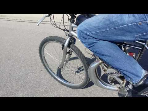 Tuned Ported High Performance Motorized Bicycle Still