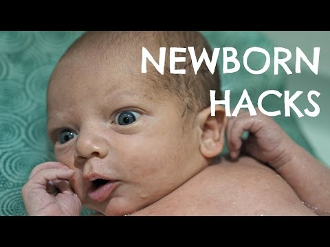 NEWBORN BABY HACKS