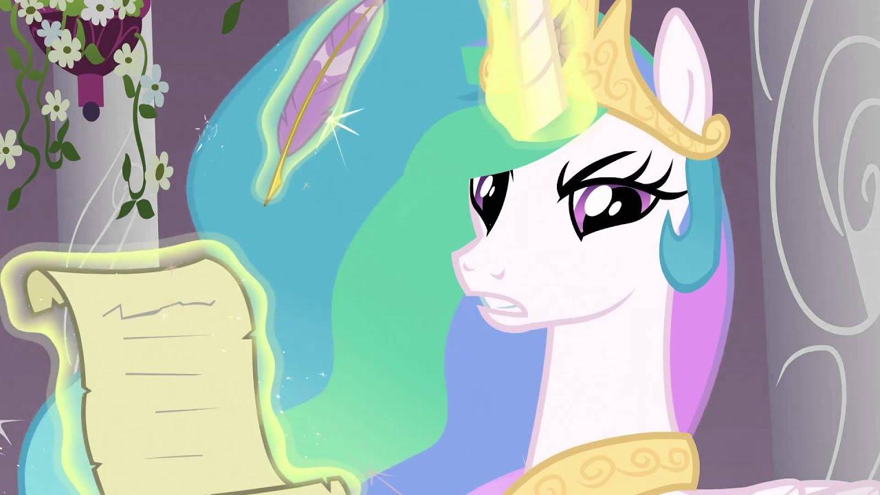 Fluttershy Wallpaper Fall Princess Celestia You Failed The Test Twilight Youtube