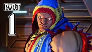 Street Fighter 5 - Story Walkthrough PART 1 @ 1080p (60fps) HD ✔