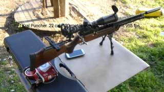 KRAL PUNCHER .22 CAL 330 CC VE 58 CM BARREL MEGA 130 METRE SHOOTING