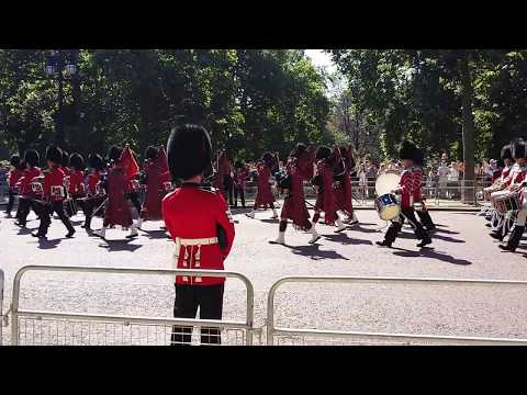 Scots Guards Band - Trooping The Colour 2017