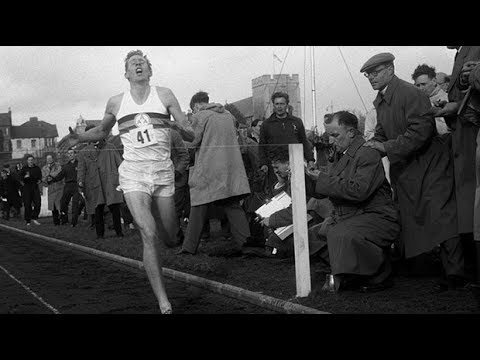 Archive: Watch Sir Roger Bannister run world's first sub-four minute mile
