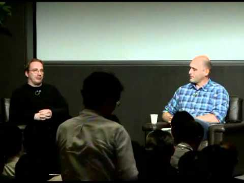 Linus Torvalds and Greg Kroah-Hartman on 20 years of Linux @ LinuxCon Japan 2011
