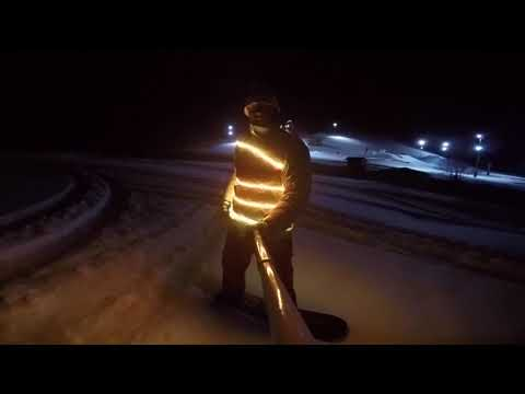 LED Snowboard Jacket