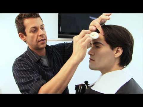 Twilight Makeup Tutorial - Edward Cullen Vampire Make-up Tutorial