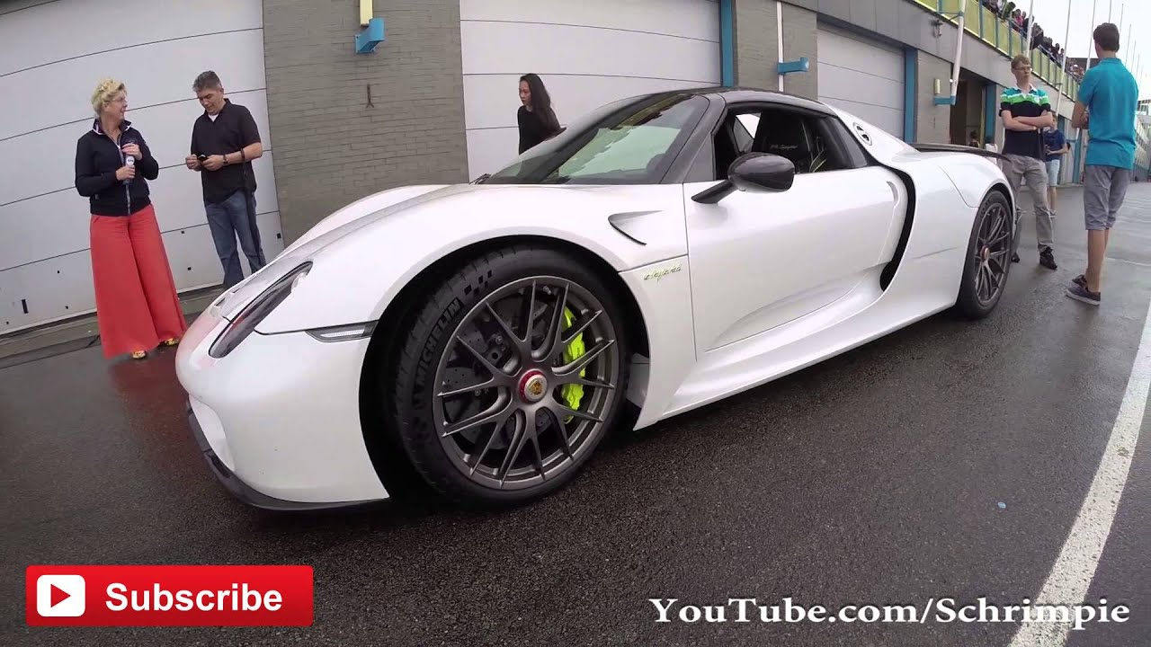porsche 918 spyder hypercar looks and exhaust sound. Black Bedroom Furniture Sets. Home Design Ideas