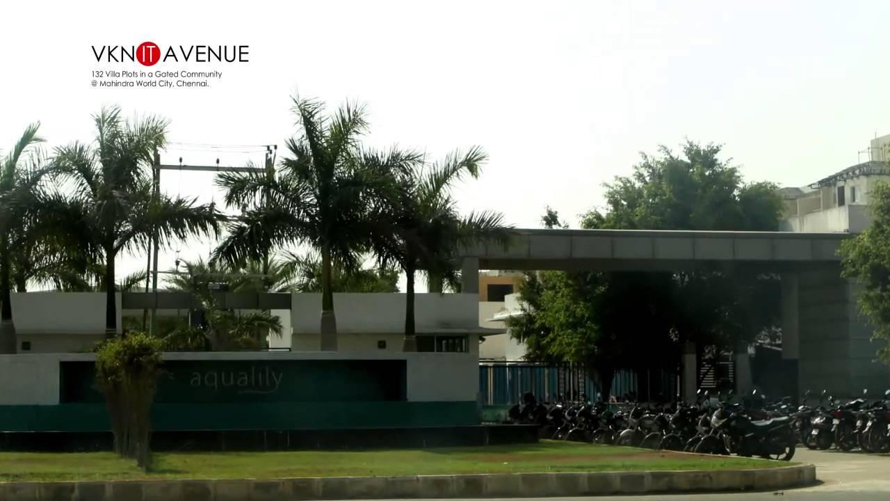 Mahindra world city vkn it avenue villa plots walk 2 for Dreamhomes com