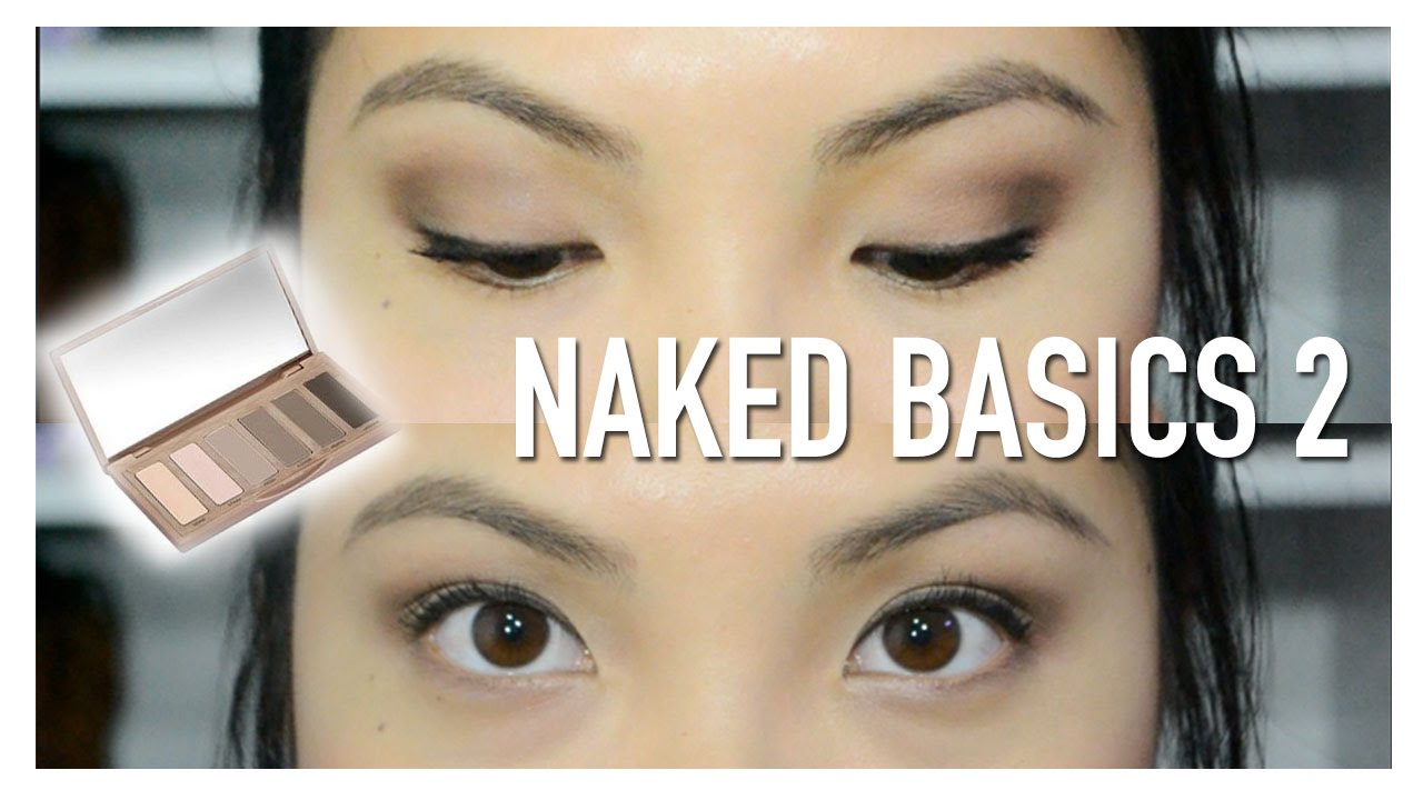 Fabuleux Quick and Easy Urban Decay Naked Basics 2 Tutorial - YouTube UX57