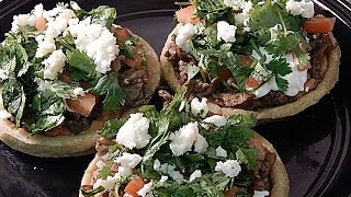 How To Make Sopes (quick Meal)