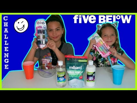 "FIVE BELOW SLIME CHALLENGE ./ TESTING NEW ACTIVATOR FROM FIVE BELOW ""SISTER FOREVER"""