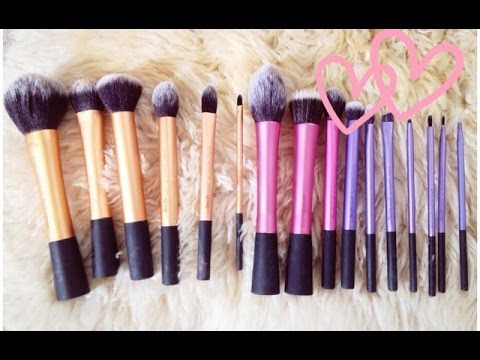 how to dry clean makeup brushes