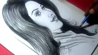 How to Draw Actress TAMANNA Drawing for Kids