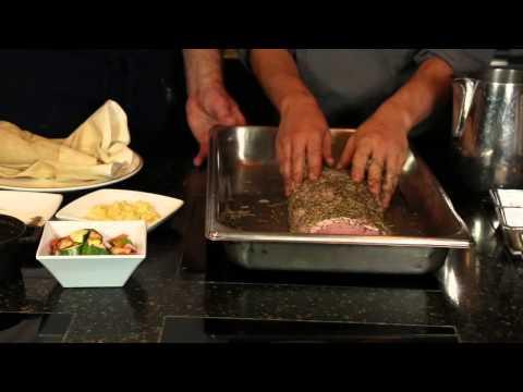 How To Make Boneless, Seasoned Pork Loin Filet In The Oven : World Recipes