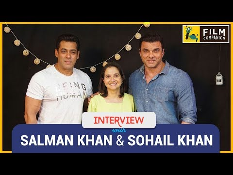 Salman Khan & Sohail Khan Interview with Anupama Chopra | Tubelight