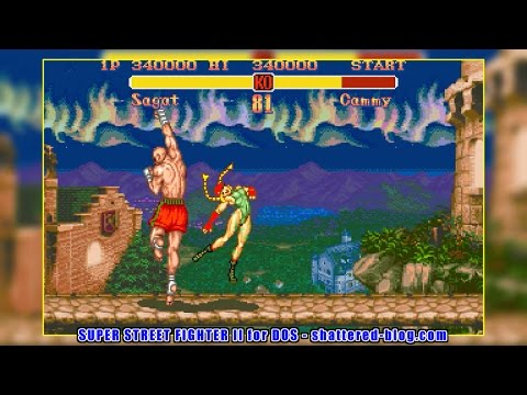 Sagat(サガット) - SUPER STREET FIGHTER II for DOS