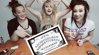 HOW TO MAKE HOMEMADE OUIJA BOARD - OUIJA BOARD WEDNESDAY!