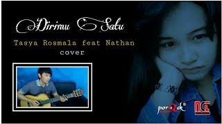 Download Mp3 Tasya Rosmala Feat Nathan | Dirimu Satu  Cover