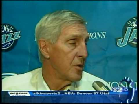 Interview with Deron Williams and Jerry Sloan