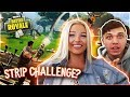 TEACHING My GIRLFRIEND How To Play FORTNITE Battle Royale 1 Solo WIN mp3