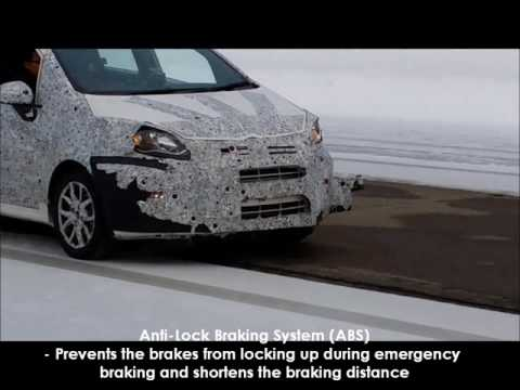 PROTON Safety Videos: Anti Lock Braking System ABS + EBD