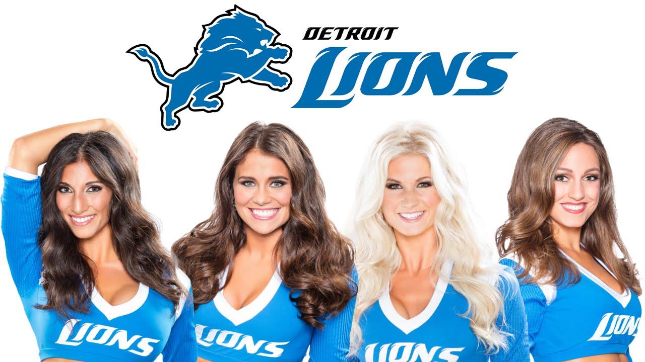 2016-17 Detroit Lions Cheerleaders Debut Roster (Early Vikings Hate Week)