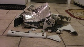 destroy an xbox 360
