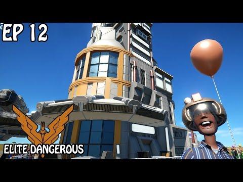 New Shopping Area   Elite Dangerous   Planet Coaster Gameplay   EP 12