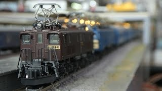鉄道模型(Nゲージ):アトリエminamo vol.251:EF16+EF58+夜行急行「能登」