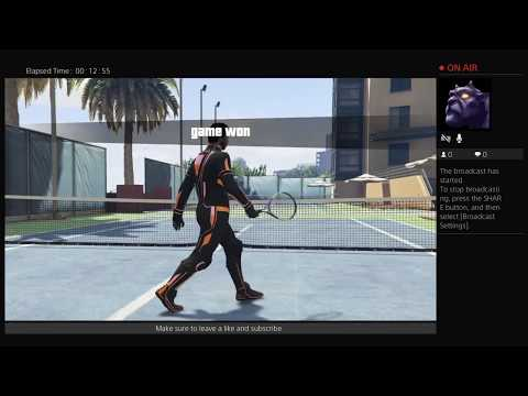 Gta 5 online multiplayer.(tennis,joining new groups!!.)