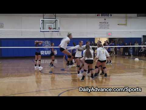 The Daily Advance | 2017 High School Volleyball | Perquimans at Camden