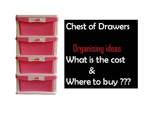 What is the Cost & where to BUY ? Chest of Drawers |