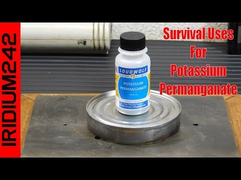 Survival Uses For Potassium Permanganate