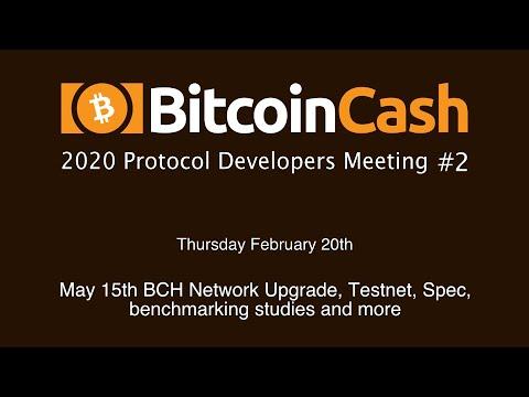 Bitcoin Cash Development video meeting #2 - February 20th, 2020