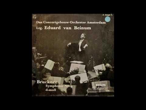 "Bruckner ""Symphony No 9"" Eduard van Beinum"