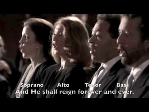 "Handel: ""Hallelujah"" Chorus from Messiah, an English oratorio"