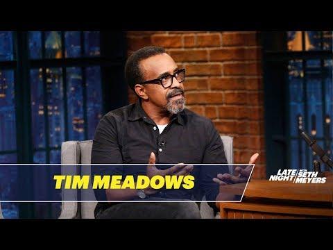 Tim Meadows Prank Called David Schwimmer
