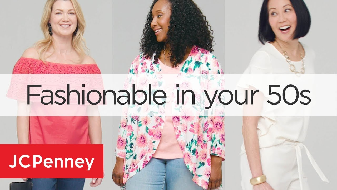 [VIDEO] - Top 3 Outfits For Older Women: Women's Fashion Trends 2018 | JCPenney 3