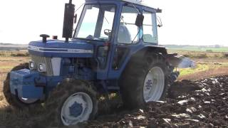 Scottish County Tractor Club October 2014. Ploughing 1