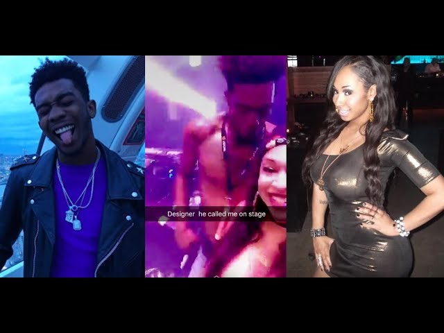 Desiigner Got Caught LACKING in a Club Dancing with Sidney Starr. He says He Didn't Know!!