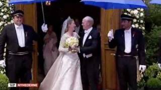 Frederik & Mary at Princess Nathalie & Alexander Johannsmann's church wedding  (2011) Thumbnail