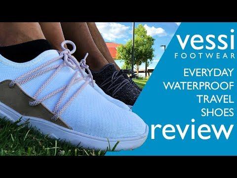 100% WaterPROOF Shoes - Vessi Cityscape
